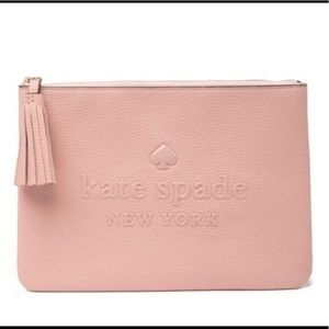 Kate Spade New York Rima Leather Clutch